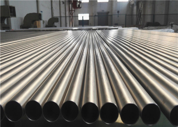 Vacuum Annealing Titanium Alloy Tube , Heat Exchanger Round Metal Tubing