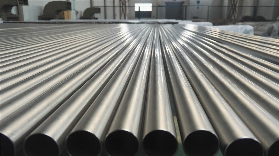 Heat Resistant Titanium Alloy Tube , Small Diameter Cold Rolled Tube 22mm OD